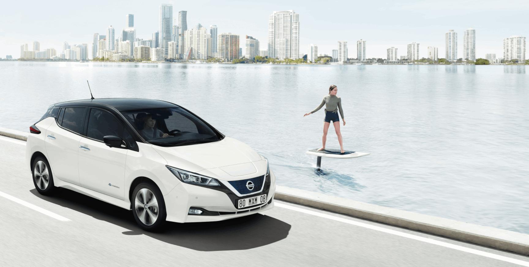 Nissan Leaf hero image